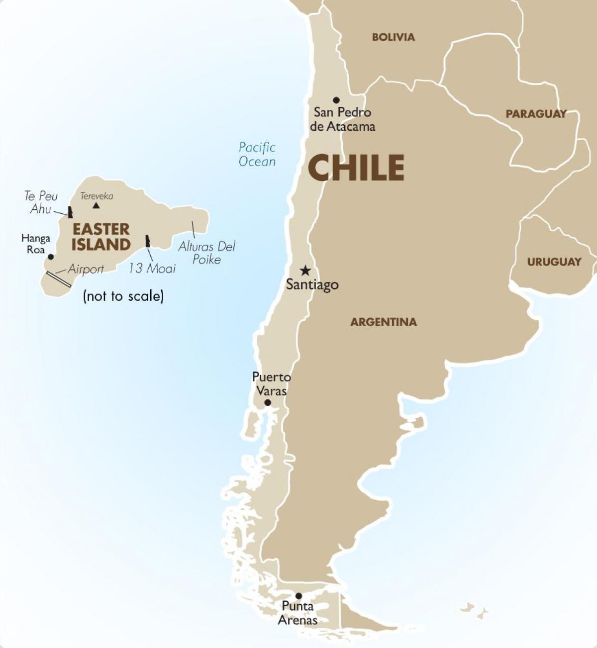 Chile Kartta Chilen Kartta Etela Amerikka Amerikka